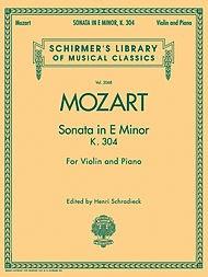 HAL LEONARD Mozart, W.A.: Sonata in E minor K.304 (violin & piano)