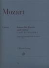 HAL LEONARD Mozart, W.A. (Seiffert, ed.): Sonata in E minor, KV 304 (300c), urtext (Violin & Piano)