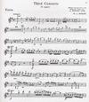 Carl Fischer Mozart, W.A. (Auer): Concerto #3 in G K.216 (violin & piano)