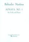 HAL LEONARD Martinu, Bohuslav: Sonata No. 1 (viola & piano)