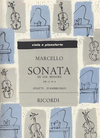 HAL LEONARD Marcello, Benedetto: Sonata in g minor Op.11#4 (Viola & piano)