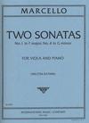 International Music Company Marcello, Benedetto: Viola Sonatas #1 in F major & #4 in G minor (viola & piano)
