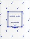 Marie, Gabriel: La Cinquantaine (viola & piano)