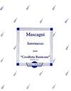 Mascagni, Pietro: Intermezzo from Cavalleria Rusticana (viola & piano)