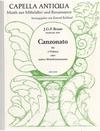 Braun, G.F.: Canzonato for 4 Violins