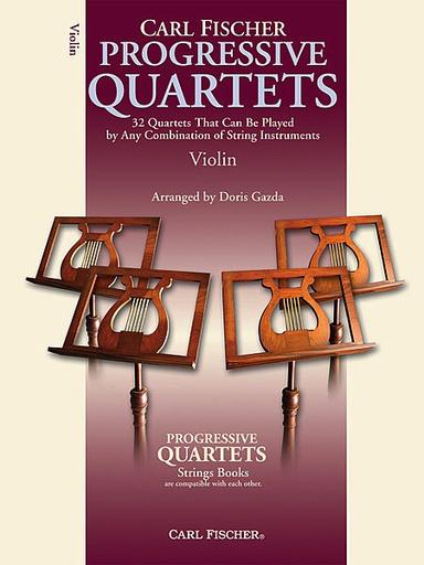 Carl Fischer Gazda, Doris: Progressive Quartets (4 violins)