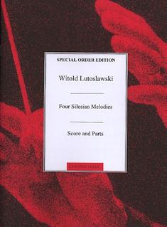 HAL LEONARD Lutoslawski (Dubiska): (score/parts) 4 Silesian Melodies (4 violins)