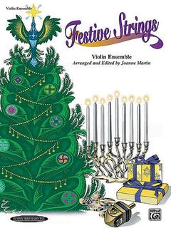 Martin, J.: Festive Strings (four violins)