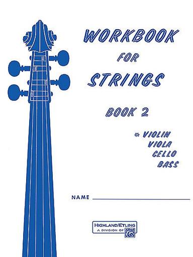 Alfred Music Etling, F.R.: Workbook for Strings, Book 2 (violin)