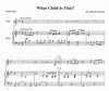 Everson, D.F.: What Child Is This (violin & piano)