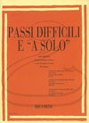 HAL LEONARD Fantini: Difficult Passages & Solos from Italian Operas, Vol.3 (violin) Ricordi