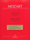Barenreiter Mozart, W.A. (Mahling): Concerto No.4 in D Major for Violin and Orchestra, K.218 (violin, and piano reduction) Barenreiter Urtext