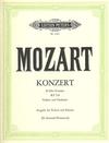 Mozart, W.A. (Oistrach): Concerto No.4 in D Major, KV218 (violin, and piano reduction)