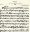 Mozart, W.A.: Concerto #5 in A KV 219 (violin & piano)