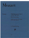 HAL LEONARD Mozart, W.A. (Seiffert, ed.): Concerto No. 5 in A, K.219, urtext (violin and piano)