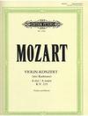 Mozart, W.A. (Marteau): Concerto No.5 in A major, K. 219 (Violin & Piano)