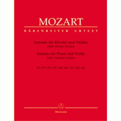 Barenreiter Mozart, W.A.: Four Early Sonatas KV6-9 Vol.1 (piano & violin)