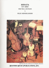 LudwigMasters Mendelssohn, Felix: Sonata in C minor (viola & piano)