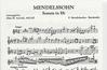 Mendelssohn, Felix (Arnold): Sonata in Eb (viola & piano)