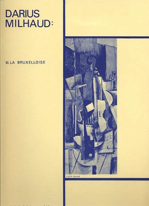 Milhaud, Darius: 4 Visages-La Bruxelloise (Viola and Piano)