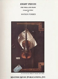LudwigMasters Forbes (arr): Eight Pieces for Viola & Piano