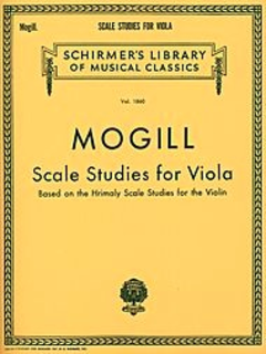 HAL LEONARD Mogill: Scale Studies (viola)