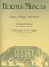 Barenreiter Telemann, G.P.: Concerto in D major (4 Violins)