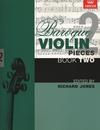 C.F. Peters Jones, Richard: Baroque Violin Pieces Bk.2 (violin & piano)