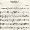 Faure, Gabriel: Sicilienne Op.78 (violin & piano)  PETERS