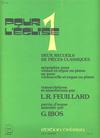 Feuillard, L.R.: Pour l'eglise 1A (violin & piano)