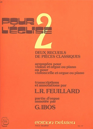 Feuillard, L.R.: Pour l'eglise 2A (violin & piano)
