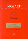 Barenreiter Mozart, W.A. (Mahling): Einzelsatze-Single Movements-K261, 269,373 (Violin and Piano) Barenreiter
