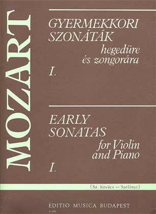 Mozart, W.A.: Early Sonatas Vol.1 (violin & piano)