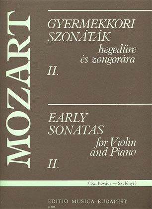 Mozart, W.A.: Early Sonatas Vol.2 (violin & piano)