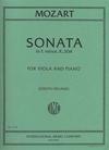 International Music Company Mozart, W.A. (Vieland): Sonata in E minor K.304 (viola & piano)