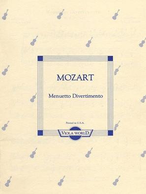Mozart (Arnold): Menuetto Divertimento (viola & piano)