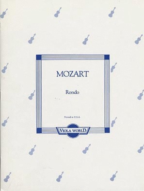 Mozart (Arnold): Rondo (viola & piano)