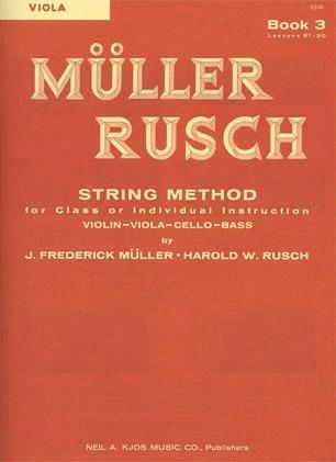 Muller, J.F. & Rusch, H.W.: String Method, Bk.3 (viola)