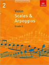 ABRSM Scales and Arpeggios for Violin, Grade 2 (2012)