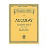 HAL LEONARD Accolay (Schill): Concerto No. 1 in A minor (violin & piano) Schirmer