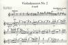 Accolay, J.B.: Violin Concerto No. 2 in d minor (violin & piano)