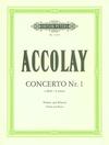 Accolay (Matz): Concerto No. 1 in a minor