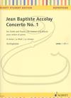 HAL LEONARD Accolay (Schliephake): Concerto No.1 in A minor (violin & piano) Schott