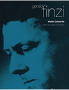 HAL LEONARD Finzi, G.: Violin Concerto (Violin & Piano)