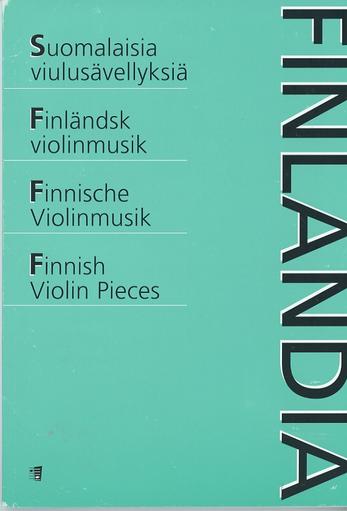 HAL LEONARD Finnish Violin Pieces (violin & piano)