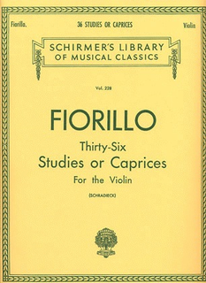 HAL LEONARD Fiorillo (Schradieck): 36 Studies or Caprices (violin)