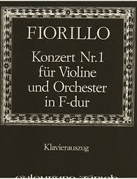 Fiorillo, Federigo: Violin Concerto in F Major (violin & piano)