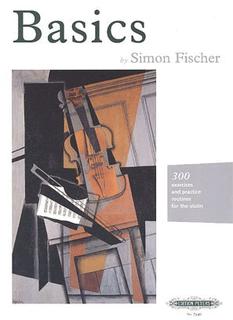 C.F. Peters Fischer, Simon: Basics (violin) PETERS