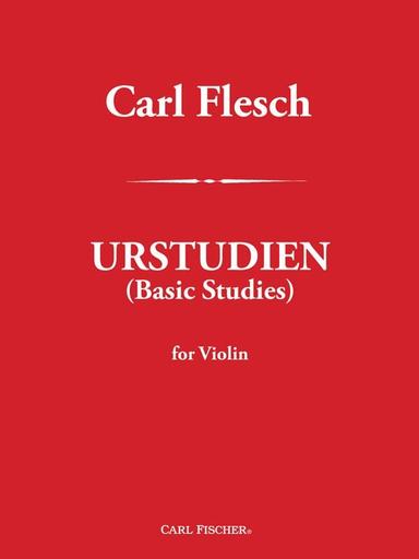 Carl Fischer Flesch: Urstudien - Basic Studies (violin)