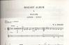 HAL LEONARD Mozart, W.A. (Dobszay): Mozart Album-Songs (violin & piano)